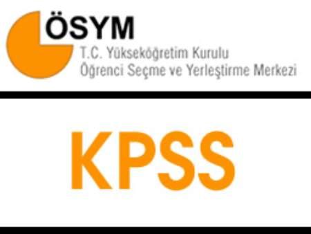 KPSS Konuları 2012